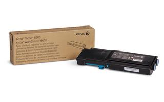 Xerox Phaser 6600 cyan standard kapasitet