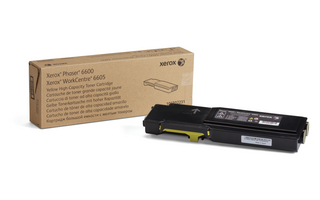 Xerox WC 6605 gul høy kapasitet